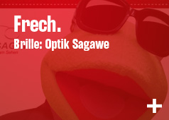 Frech. Brille: Optik Sagawe
